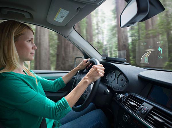 Navdy: een heads-up display waarmee je prettiger kunt autorijden