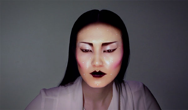 Creepy: digitale make-up met projection mapping