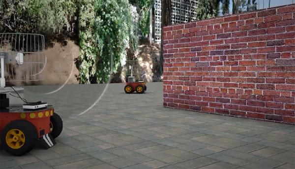 Intelligente robots kijken door muren met Wi-Fi signalen