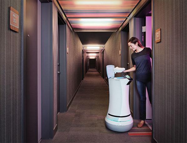 Savione: de robot die hotelmedewerkers werkloos maakt