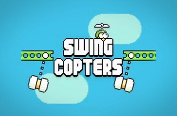 Swing Copters: de nieuwe game van de maker van Flappy Bird