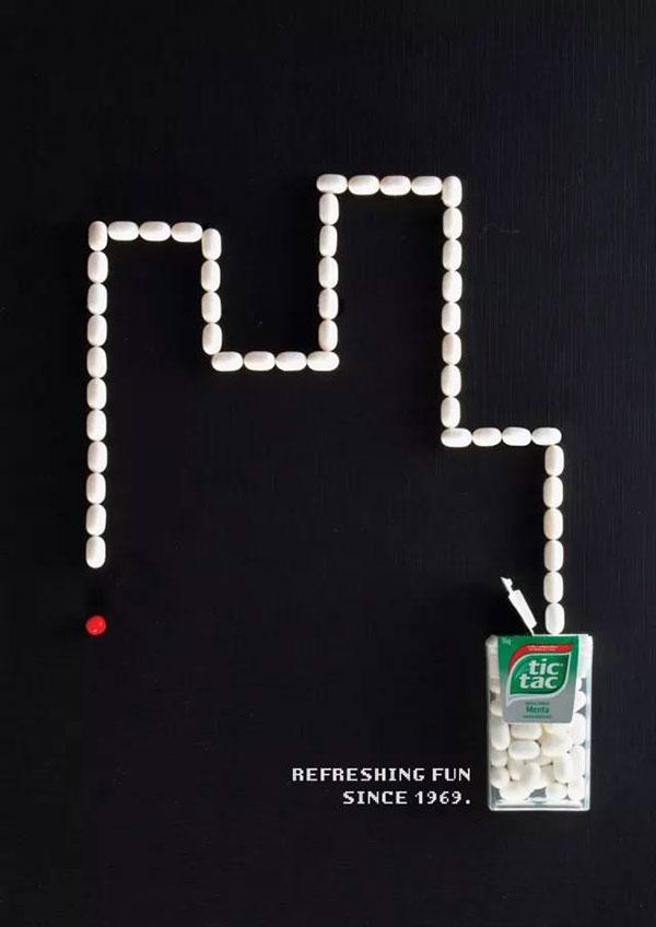 Mooie campagne van Tic Tac refereert aan klassieke games