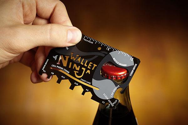 Wallet Ninja: de koning onder de multitools