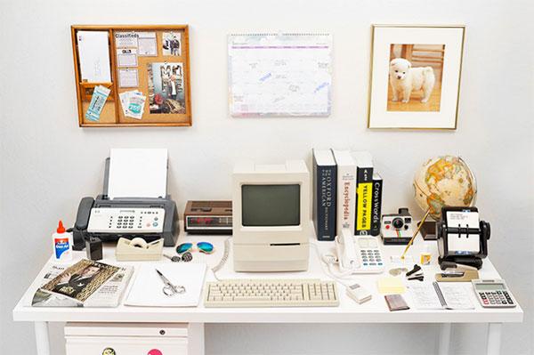 De evolutie van het bureau