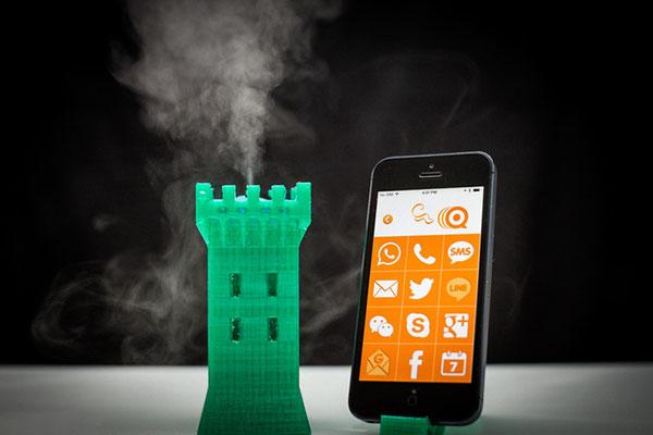 iScent Atomizer voegt geur toe aan je smartphone