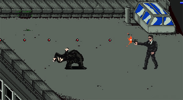 The Matrix in 8 bit