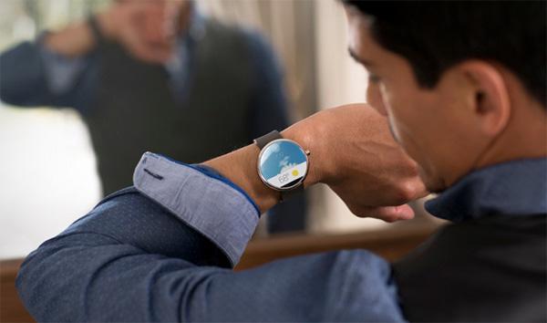 Nu te koop: de veelbelovende Moto 360 smartwatch