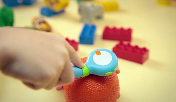 Mozbii: kleurenscanner en tabletstylus voor kids