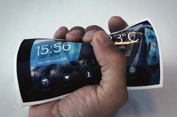 Portal: een buigende smartphone voor om je pols
