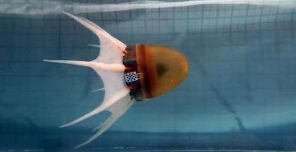Griekse robot bootst op indrukwekkende wijze een octopus na