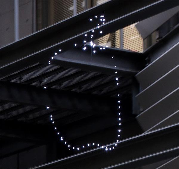 Aerial Burton's display gebruikt lasers om 3D-beelden in de lucht weer te geven
