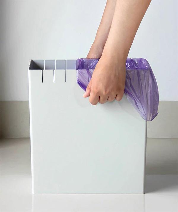 Eco Trash Can: het recyclen van plastic tasjes was nog nooit zo eenvoudig