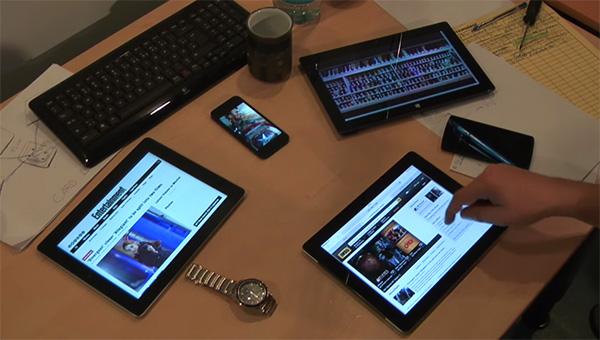 Met de HuddleLamp werken al je schermen samen