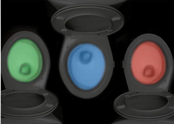 IllumiBowl: laat je wc-pot licht geven