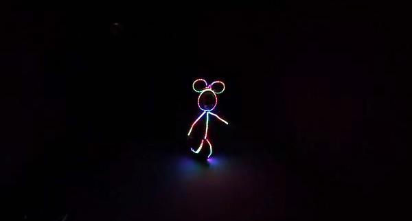 Gloey Zoe: het lichtgevende kostuum voor kids