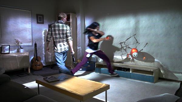 Microsoft RoomAlive verandert een woonkamer in een digitale speeltuin
