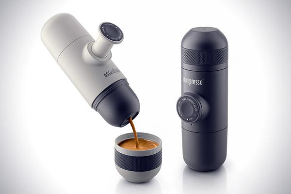 Minipresso: zet een bakkie espresso met je handen
