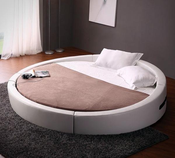 Opus: een rond bed, omdat het kan