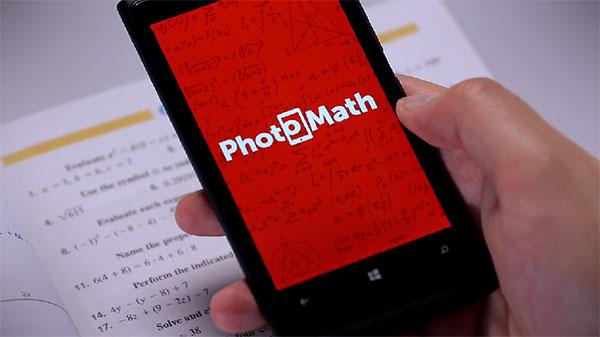 Geen wiskundeknobbel? Geen probleem met de PhotoMath app
