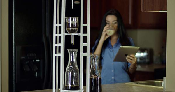 Met de Imperial Proper Coffee Drip duurt het vier uur om een bakkie te zetten