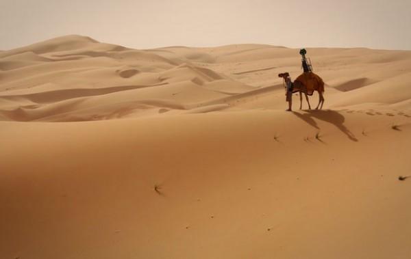 Maak met Google Street View een virtuele kameelreis door de woestijn