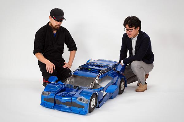 Deze Japanse robotbouwers maken hun eigen Transformer