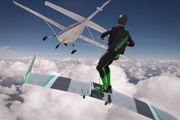 Maniakale uitvinder wil van WingBoarden een nieuwe extreme sport maken
