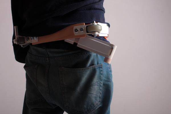 Belt Scooter: de vernuftige combinatie van een riem en een step