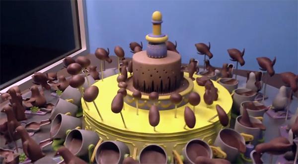 Hoe een draaiende chocoladetaart onverwachts spectaculair kan zijn