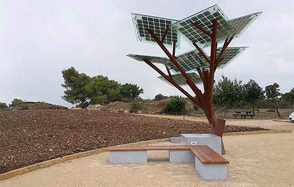 "eTree: een ""boom"" die Wi-Fi verstrekt"