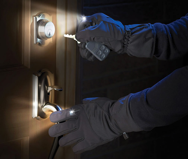 Light Casting Gloves: handschoenen met ingebouwde zaklamp