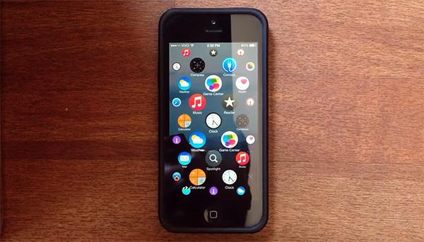 Als het besturingssysteem van de Apple Watch op de iPhone zou draaien
