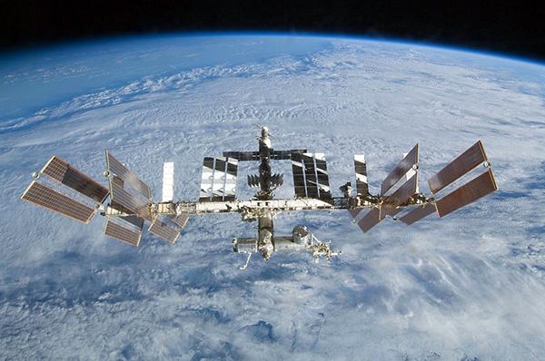 Bekijk het International Space Station in drie dimensies