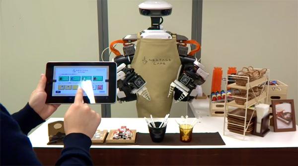 Hoe rustgevend het kan zijn om een robot koffie te zien zetten