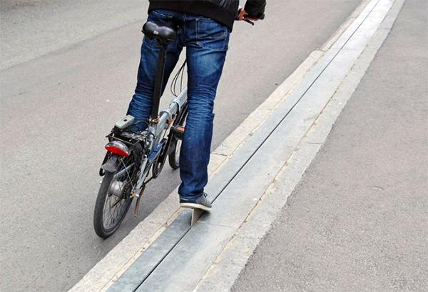 's Werelds eerste en enige fietslift