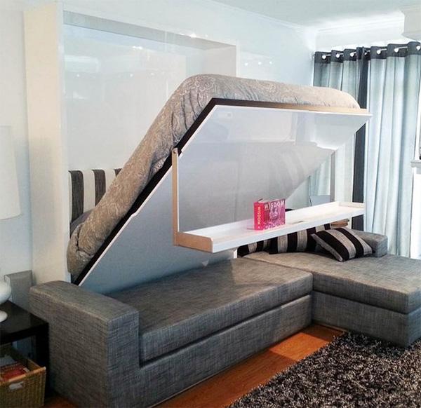 Met de MurphySofa Float schep je extra ruimte in huis