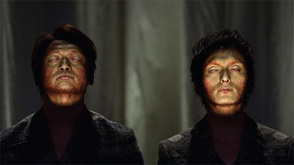 Face Hacking: projection mapping op gezichten