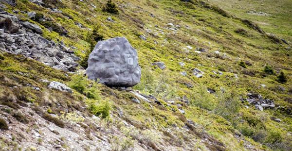 rots-huisje-alpen