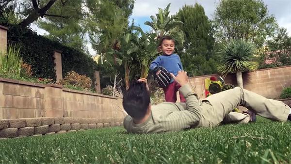 Hoe leuk het is om het zoontje van een VFX expert te zijn