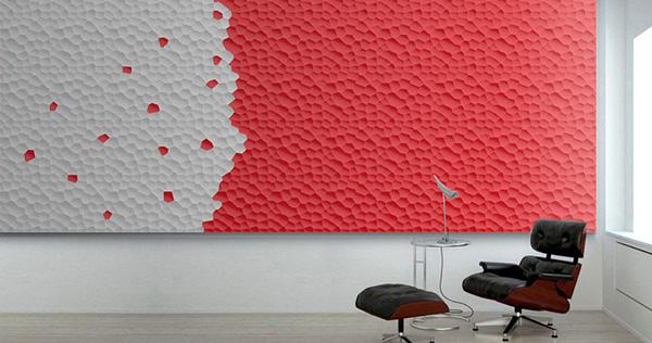 Nooit meer schilderen dankzij van kleur veranderende muurpanelen