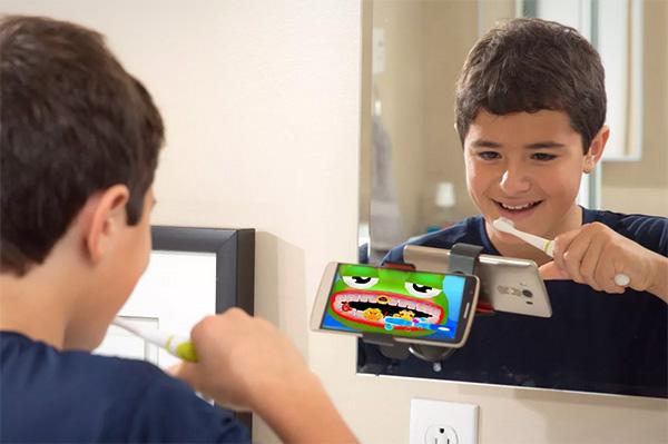 Met de Grush willen kinderen maar al te graag hun tanden poetsen