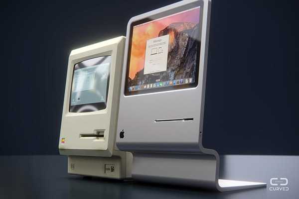 Zo mooi zou een moderne versie van de klassieke Mac kunnen zijn