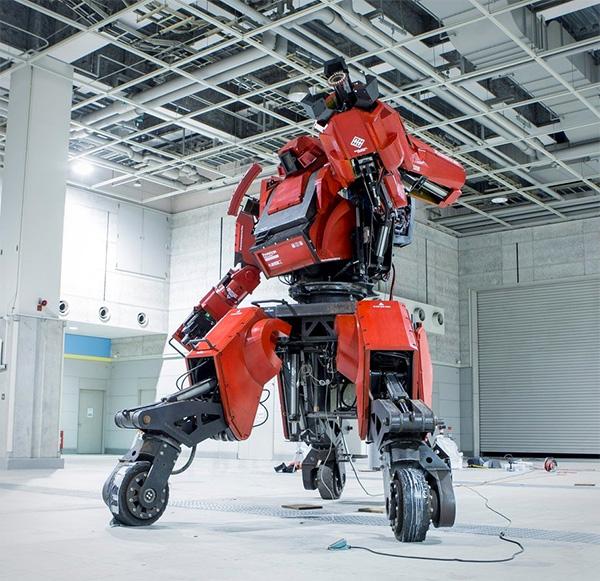 Te koop: een robotpak van een miljoen dollar