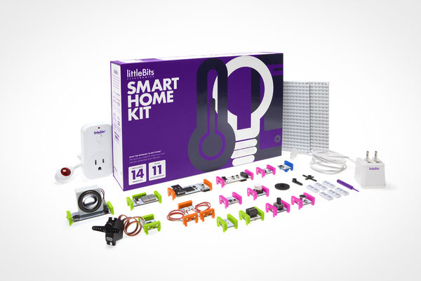 Met LittleBits automatiseer je op eenvoudig wijze je huis