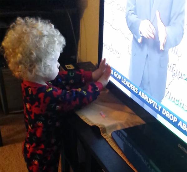 Mama, waarom stoppen de letters niet?