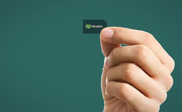 WhatSim: een simkaart speciaal voor WhatsApp
