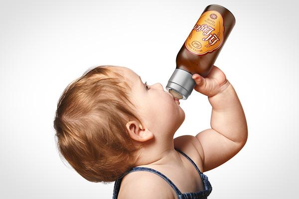 Chill, Baby: een bierfles voor baby's