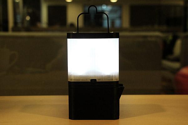 Deze lamp werkt op zeewater
