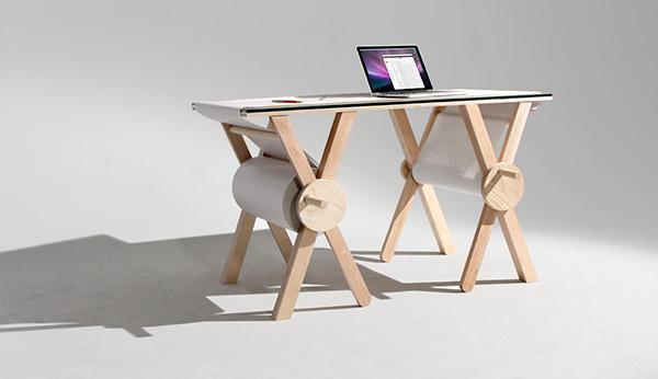 Met dit geweldige bureau kun je altijd je aantekeningen kwijt