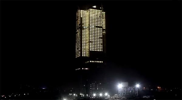 Bouwen op zijn Chinees: een enorm flatgebouw in negentien dagen
